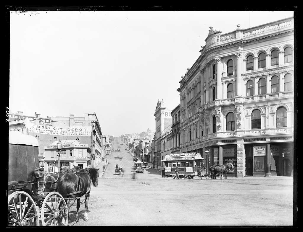 [High Street, looking up from Princes Street, Dunedin]